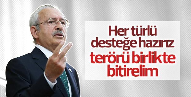 Kılıçdaroğlu'ndan terör saldırısıyla ilgili ilk açıklama