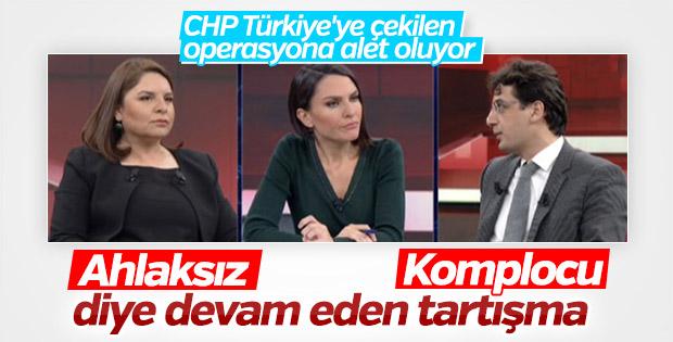 Fadime Özkan'ın CHP değerlendirmesi stüdyoyu gerdi