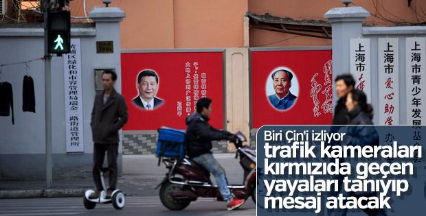 Çin'de yüz tanıma teknolojisi herkesi izliyor