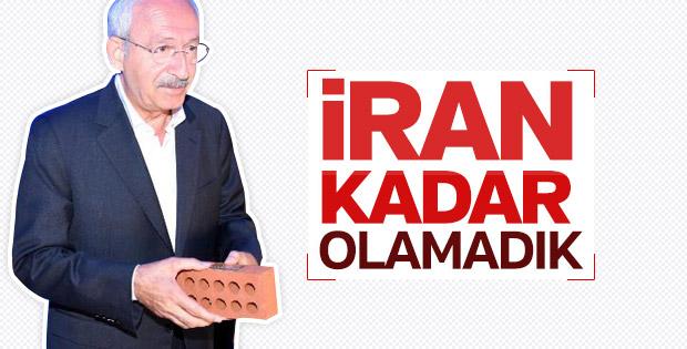 Kılıçdaroğlu'na göre İran'ın üniversiteleri daha iyi