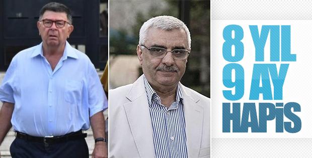 Şahin Alpay ile Ali Bulaç'ın cezası belli oldu