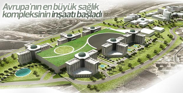 İkitelli Şehir Hastanesi'nin inşasına başlandı