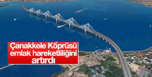 Çanakkale 1915 Köprüsü emlak hareketliliğini artırdı