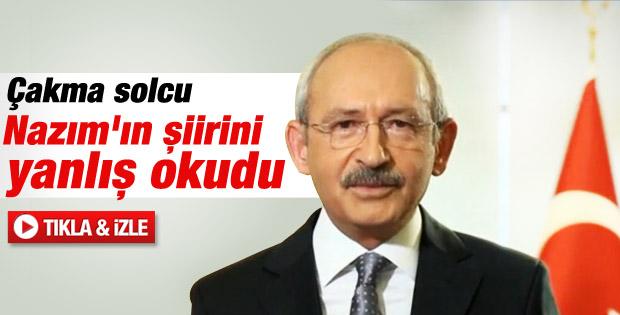 Kılıçdaroğlu'ndan Sevgililer Günü'ne şiirli kutlama - izle