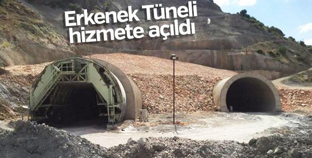 Erkenek Tüneli hizmete açıldı