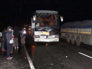 Manisa'da trafik kazası: 24 yaralı