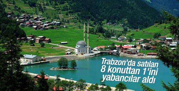 Trabzon'da satılan 8 konuttan 1'ini yabancılar aldı