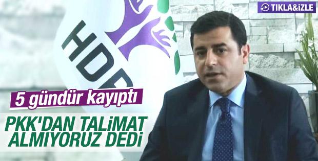Selahattin Demirtaş'tan koalisyon açıklaması