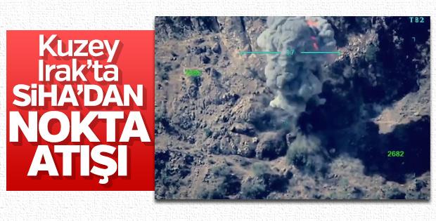 TSK'nın Kuzey Irak'ta terör hedeflerini vurma anları