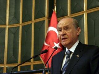 MHP Lideri Bahçeli'nin grup konuşmasının hikayesi