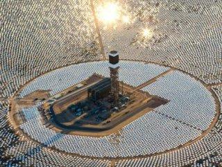 Dünyanın en büyük güneş enerjisi santrali ABD'de