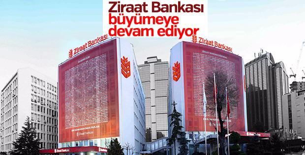 154. yaşına giren Ziraat Bankası büyümeye devam ediyor