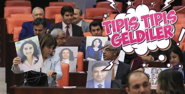 HDP, TBMM boykotunu bitirdi