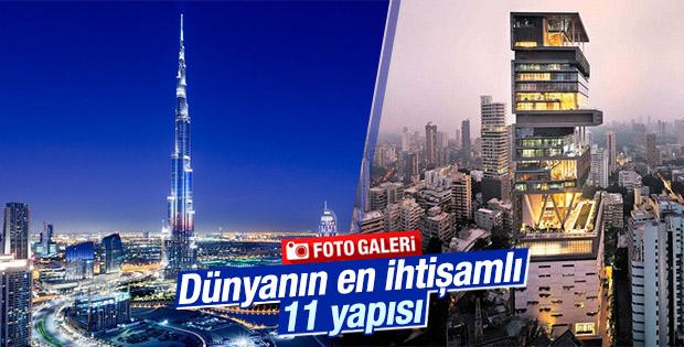 Dünyanın en pahalı 11 yapısı belirlendi
