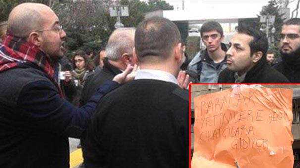 Boğaziçi Üniversitesi'nde İHH standı kavgası