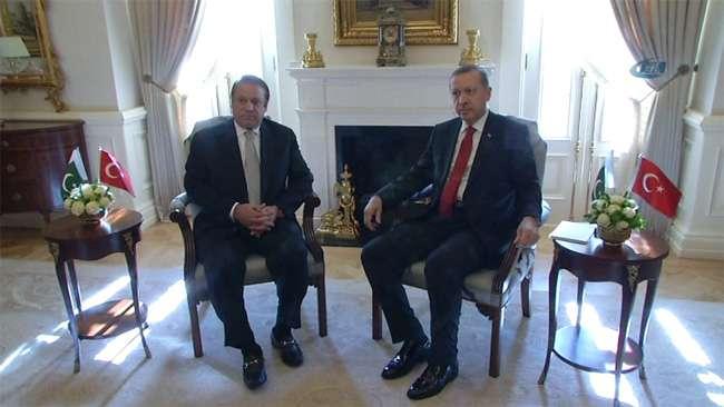 Başbakan Erdoğan Şerif ve Karzai ile görüştü