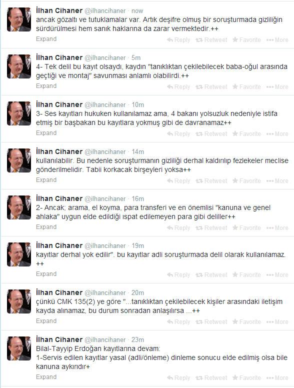 CHP'li Cihaner: Erdoğan'ın dinlenmesi kanuna aykırı