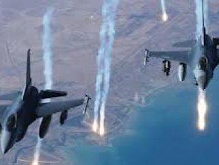 İsrail savaş uçağı Lübnan sınırını bombaladı