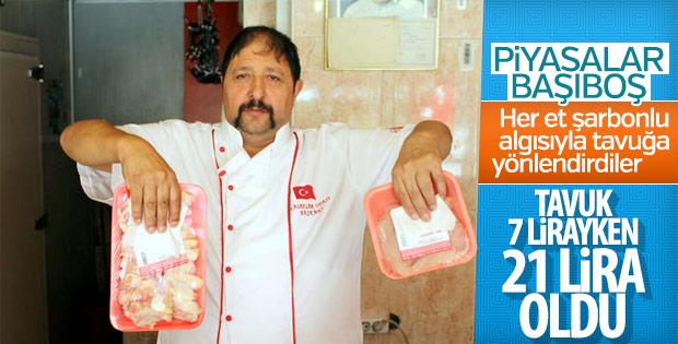 Tavuk etine 9 ayda yüzde 200 zam yapıldı
