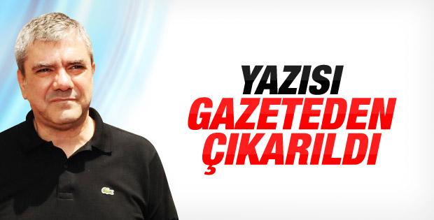 Hürriyet'ten Erdoğan'ı eleştiren Yılmaz Özdil'e veto