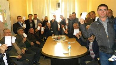 Edirne'de CHP'li 200 kişi istifa ederek DSP'ye geçti