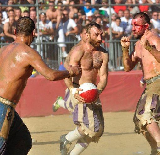 Modern çağ gladyatörlerinden dünyanın en vahşi sporu