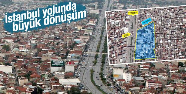 İstanbul yolunda kentsel dönüşüm başlıyor
