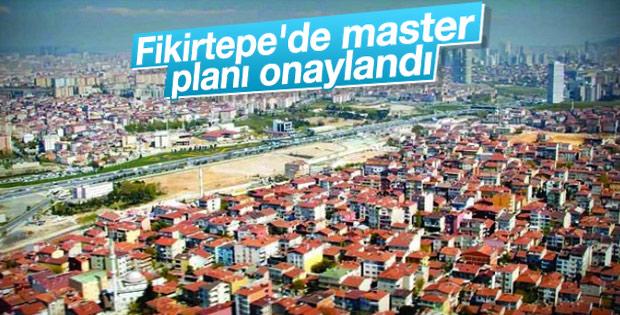 Fikirtepe'de master planı onaylandı