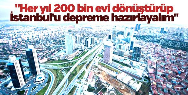 Özhaseki: İstanbul'u depreme hazırlamalıyız
