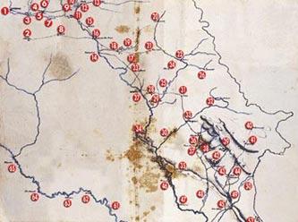 Sultan Abdülhamit'in petrol haritası gerçek çıktı