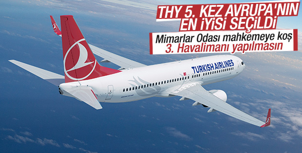 Avrupa'nın en iyisi 5'inci kez Türk Hava Yolları oldu