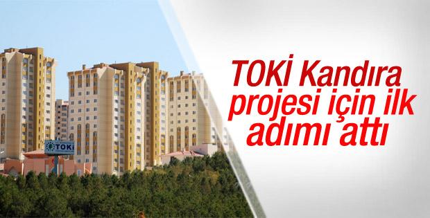 TOKİ Kandıra'daki konut projesine başlıyor
