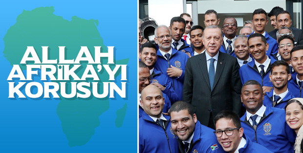 Başkan Erdoğan'dan Afrika ziyareti değerlendirmesi