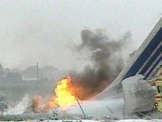 Cezayir'de uçak düştü: 103 ölü
