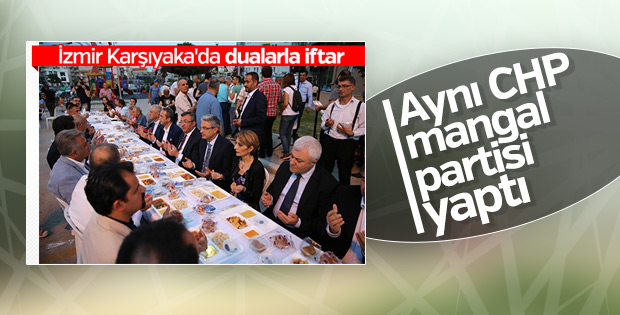 CHP'li İl Başkanı'nın mangal partisi kızdırdı