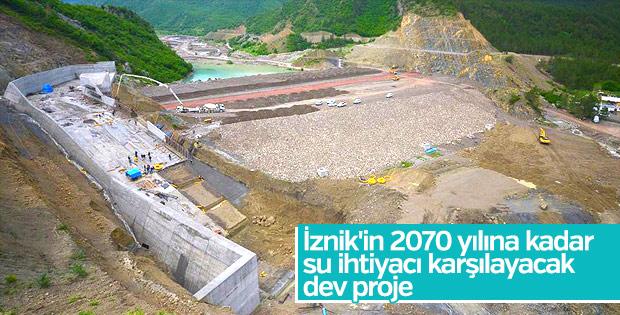 İznik'e dev baraj projesi