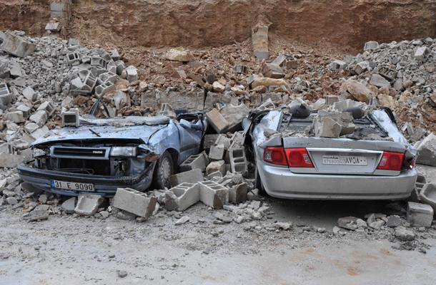 Gaziantep'te kuvvetli yağış su baskınına neden oldu