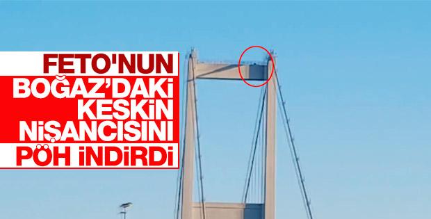 Köprüde katliam yapan darbeci sniper