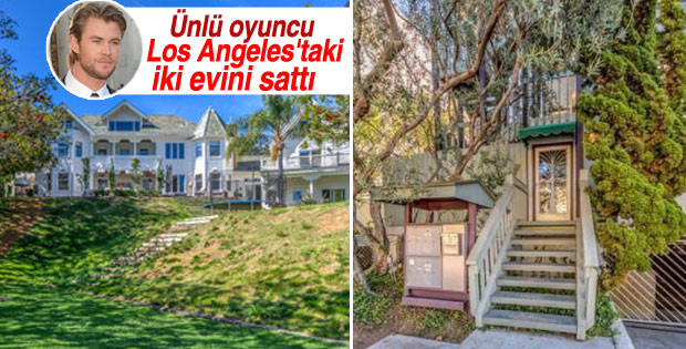 Ünlü oyuncu Los Angeles'taki iki evini sattı