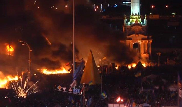 Ukrayna'da protestolar şiddetlendi: 9 ölü