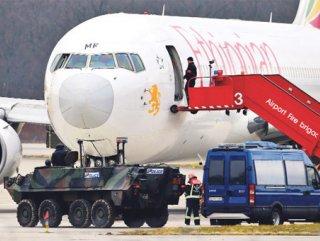 Etiyopyalı pilot iltica için uçağını kaçırdı