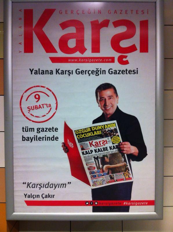 Gezi-Cemaat gazetesi Karşı yayına başlıyor