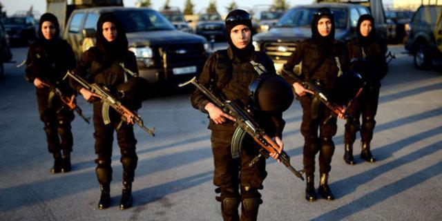 Filistin'in kadın komandoları