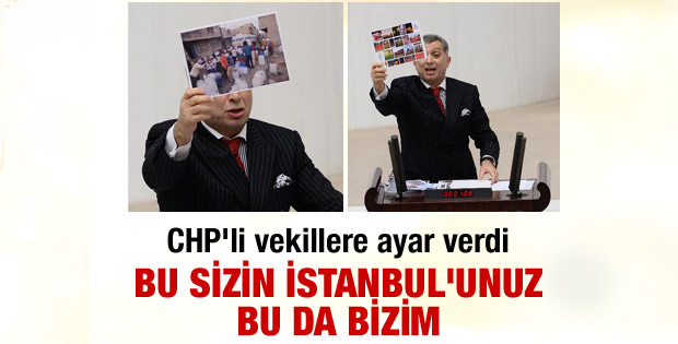 Külünk'den fotoğraflı Erdoğan savunması