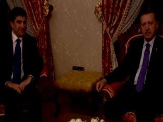 Başbakan Neçirvan Barzani'yi kabul etti