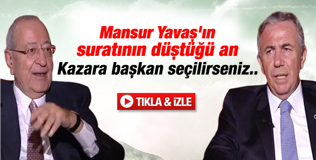 Mehmet Barlas'tan Kazara gafı - izle