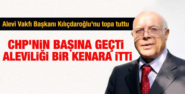Cem Vakfı Başkanı Kılıçdaroğlu'nu ağır eleştirdi