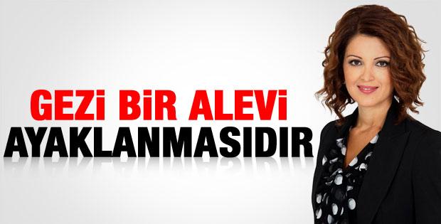 Nagehan Alçı: Gezi olayları bir Alevi ayaklanmasıdır
