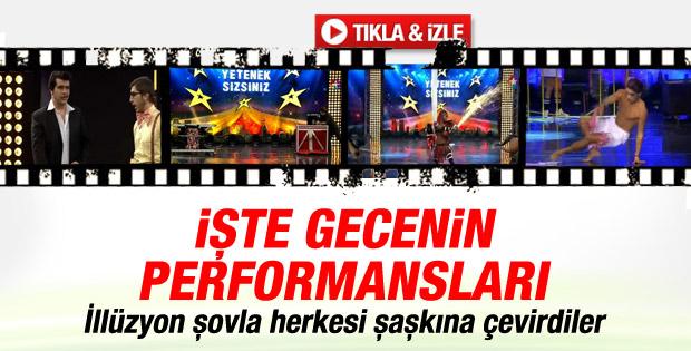 Yetenek Sizsiniz Türkiye'de 9 Şubat performansları