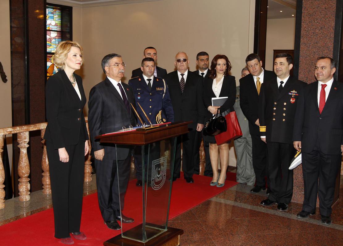 Arnavutluk Savunma Bakanı Kodheli'nin Ankara ziyareti